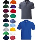 3er Pack Fruit of the Loom 65/35 Polo, Herren Pique...