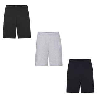3er Pack Fruit of the Loom Lightweight Shorts, Herren Freizeit Shorts