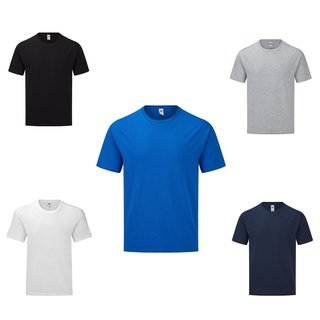 Fruit of the Loom Iconic 165 Classic T, kurzarm Herren Shirt