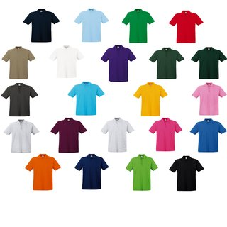 Fruit of the Loom Premium Polo Herren Poloshirt,rundhals,kurzarm Shirt