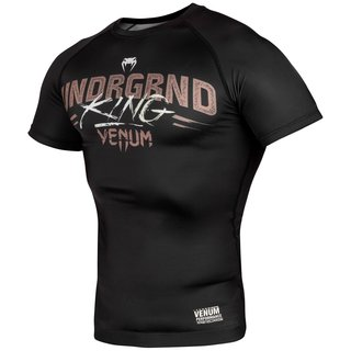 Venum Underground Rashguard - Short Sleeves, MMA, Fitness, Grappling, BJJ