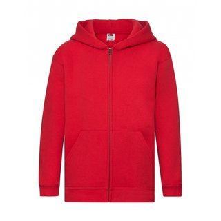 5er Pack Fruit of the Loom Kids Premium Hooded Sweat Jacket,Kinder Kapuzenjacke