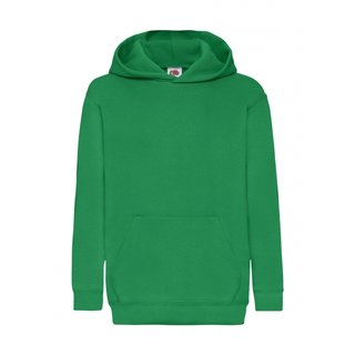 3er Pack Fruit of the Loom Kids Classic Hooded Sweat, Kinder-Langarm Kapuzen Sweat