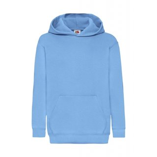 5er Pack Fruit of the Loom Kids Classic Hooded Sweat, Kinder-Langarm Kapuzen Sweat