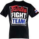 Fairtex T-Shirt Fight Team Rundhals-Ausschnitt,Kurzarm...