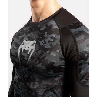 Venum Defender Rashguard Long Sleeves, MMA Grappling Kickboxen Thaiboxen