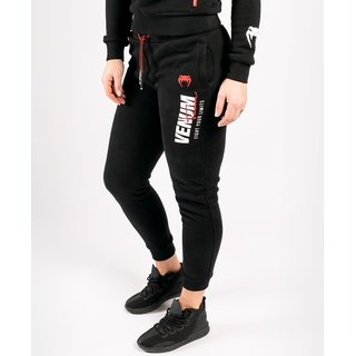 Venum Woman Team Joggings schwarz, MMA Krav Maga Kick-Thaiboxen