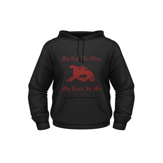 Kaputzenpulli My God is Odin, Hoodie, Mythen, Sage, Altertum