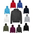 3er Pack Fruit of the Loom Classic Hooded Sweat Jacket,...
